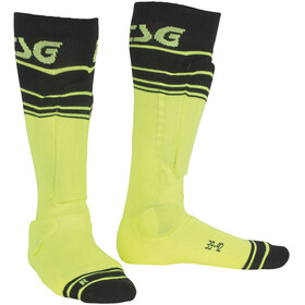 TSG Riot Socks yellow-striped